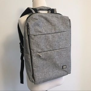NWOT Water Resistant USB Charging Laptop Backpack